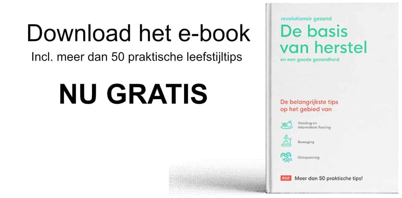 Gratis e-book De basis voor herstel en een goede gezondheid