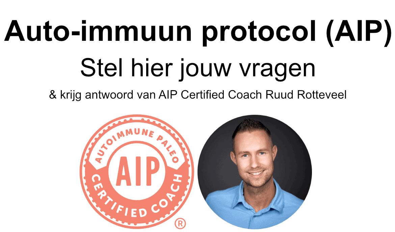 Auto-immuun protocol (AIP) vragen en antwoord