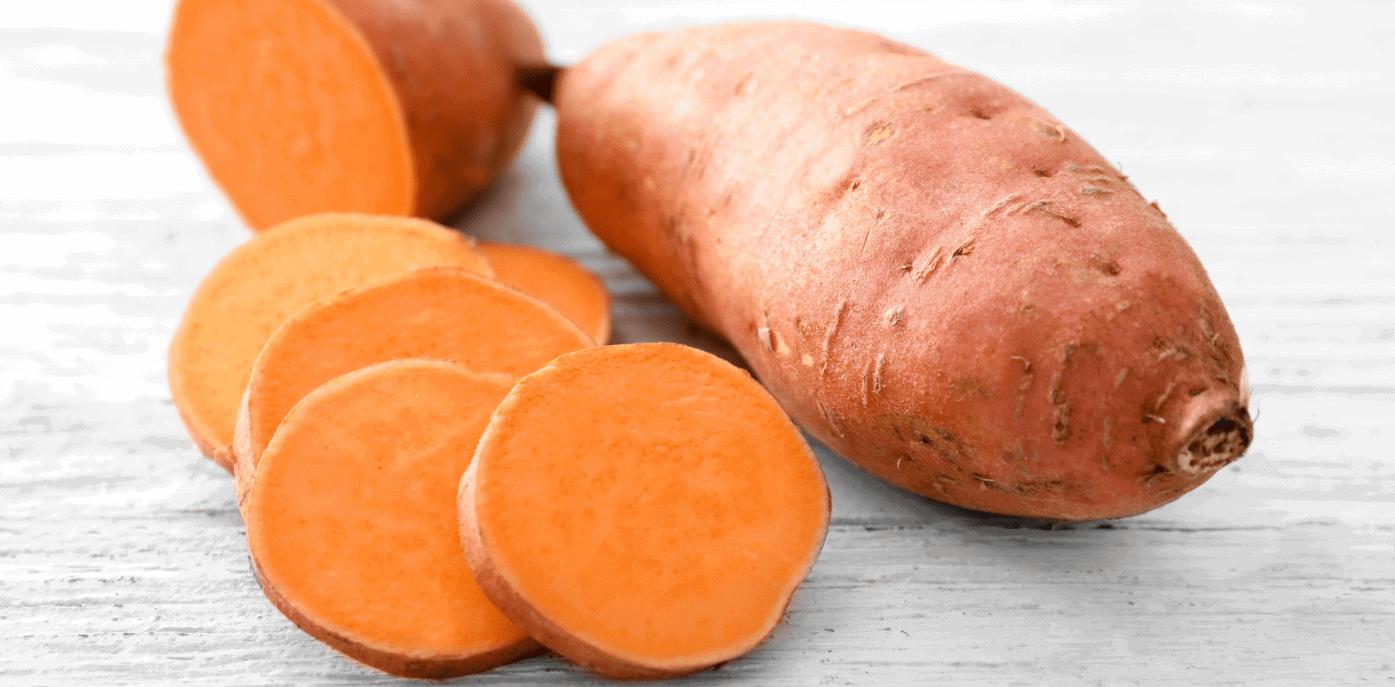 is zoete aardappel bataat toegestaan tijdens het aip dieet